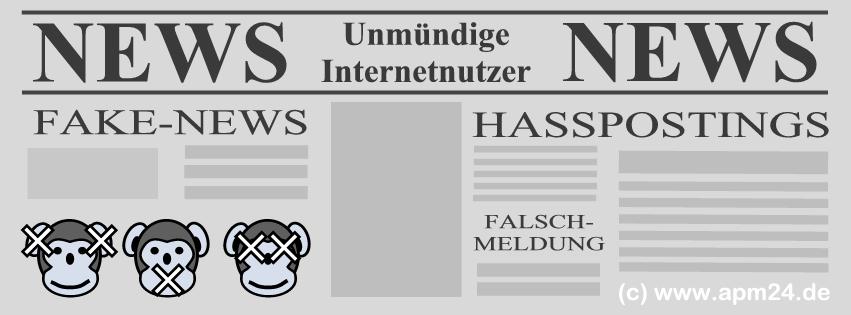 Thumb zum Blog Fake-News, Hasspostings und die unmündigen Internetnutzer