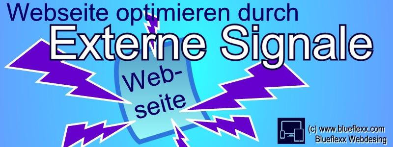 Thumb zum Blog Lässt sich eine Website durch externe Signale optimieren?