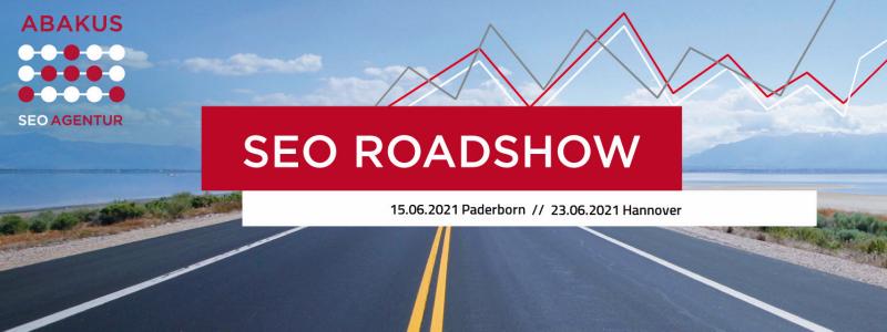 Thumb zum Blog Die SEO Roadshow 2021: Tagesseminare zur Suchmaschinenoptimierung